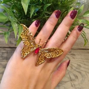 New express butterfly ring